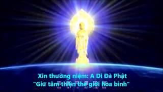 Niệm Phật Tiếng Hoa (Hình Động Rất Đẹp) (Rất Hay)