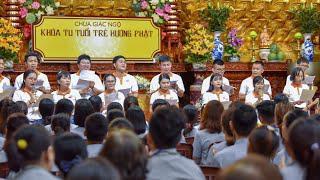 Tụng Kinh Phật Căn Bản || Khóa tu Tuổi trẻ Hướng Phật|| ngày 20-09-2020