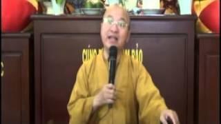 Tránh Xa Sáu Cửa Ngõ Bại Vong (01/10/2012) video do Thích Nhật Từ giảng