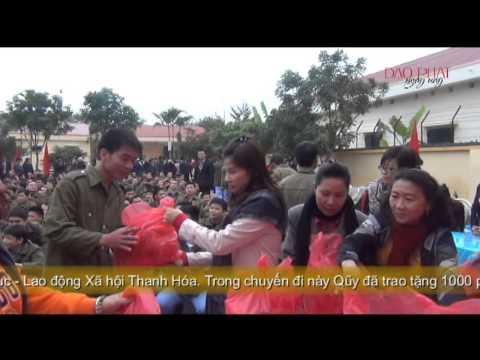 Quỹ từ thiện Đạo Phật Ngày Nay phát quà tại TTGDLD Thanh Hóa