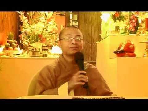 Lập Nghiệp - Phần 1/2 (22/07/2007) video do Thích Nhật Từ giảng