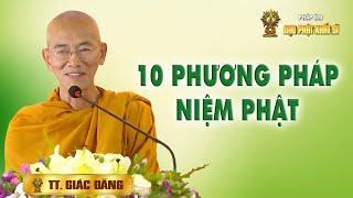 Mười phương pháp niệm Phật