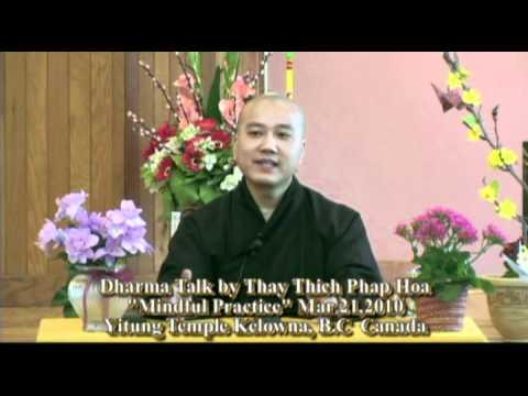 Dharma Talk by Thay Thich Phap Hoa