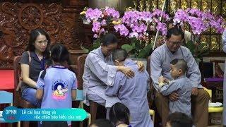 Xúc Động Giây Phút Hội Đầy Nước Mắt Của 2 Chú Tiểu với Cha Mẹ Tại Chùa Giác Ngộ
