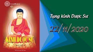 Tụng Kinh Dược Sư  tại Chùa Giác Ngộ, ngày 22-11-2020