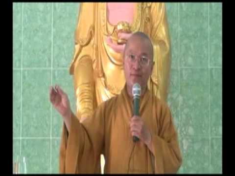 Kinh Thập Thiện 07: 8 phước nhờ nói lời từ ái (21/05/2012) video do Thích Nhật Từ giảng