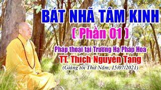 259.  Bát Nhã Tâm Kinh (phần 1) | TT Thích Nguyên Tạng giảng