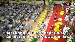 """TỤNG """"KINH DƯỢC SƯ"""" tại chùa Giác Ngộ, ngày 18-07-2020"""