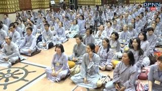 Khóa Tu Thiền Tứ Niệm Xứ lần 30 tại chùa Giác Ngộ - Ngày 21 - 10 - 2018