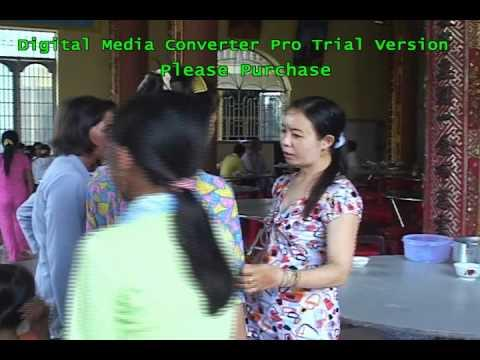 Lễ Vu Lan tại chùa Từ Thuyền năm 2010 - Phần 1/2