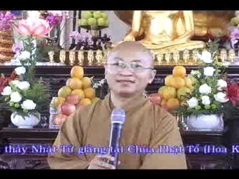 Niệm Phật Viên Thông - phần 7/7 -(19/07/2008) video do Thích Nhật Từ giảng