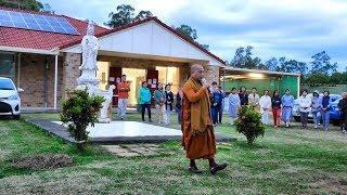 Sư Minh Niệm dạy phương pháp Thiền hành