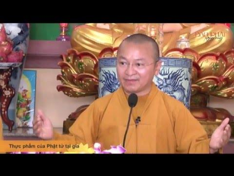 Thực phẩm của Phật tử tại gia
