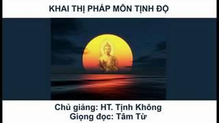 Khai Thị Pháp Môn Tịnh Độ