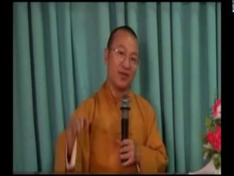Triết học ngôn ngữ Phật giáo 08: Bốn châm ngôn đàm thoại (12/06/2012) video do Thích Nhật Từ giảng