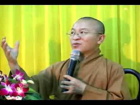 Tha thứ để được an vui (02/01/2010) video do Thích Nhật Từ giảng