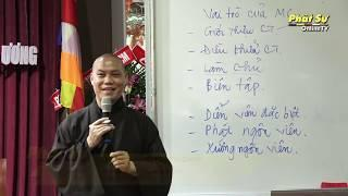 Kỹ năng dẫn chương trình trong lễ hội Phật giáo - TT.THÍCH TRÍ CHƠN (Phần 2)