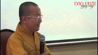 Thành Duy Thức Luận 6 - Hạt Giống Và Tính Cách Con Người (06/11/2012)video do Thích Nhật Từ giảng