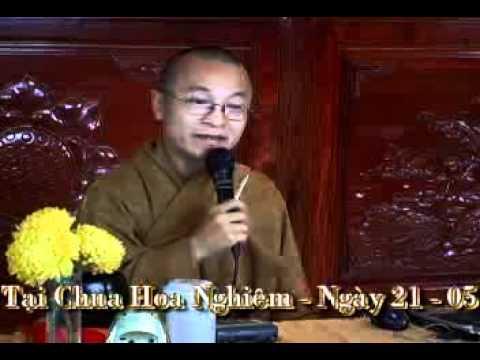 Độ Người Thân (21/05/2006) video do Thích Nhật Từ giảng