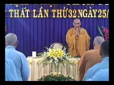 Khai thị Phật Thất khóa 32