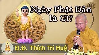 Tại sao gọi là ngày Phật Đản