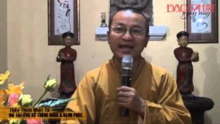 Ứng xử thông minh và hạnh phúc (09/04/2013) video do Thích Nhật Từ giảng