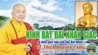 Kinh Bát Đại Nhân Giác - TT Thích Nguyên Tạng giảng