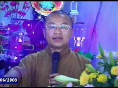 Tịnh Độ quyết nghi (14/06/2008) video do Thích Nhật Từ giảng