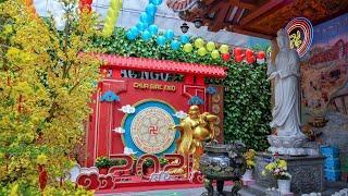Tăng Đoàn chùa Giác Ngộ Tụng Kinh sáng ngày mùng 1 Tết Tân Sửu 2021