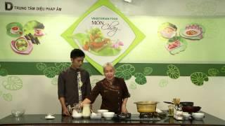 Món chay 33 - Chè đậu xanh bột bán nước dừa