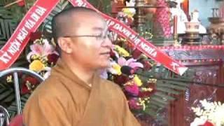 Kinh niệm Phật ba la mật 8: Mười hạnh của người tu Tịnh Độ - Phần 1/2 (13/12/2008) video do Thích Nh