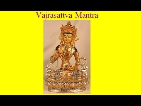 Thần Chú Kim Cang Tát Đỏa (Tâm Chú, Tiếng Phạn) - Om Vajrasattva Hum (Ôm Va Trờ Ra Xát Toa Hum)