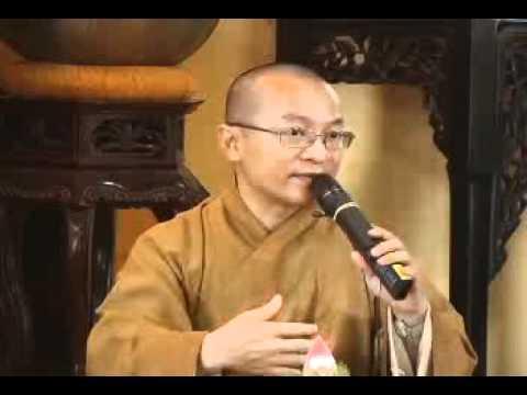 Triết lý vô ngã (06/05/2007) video do TT Thích Nhật Từ giảng