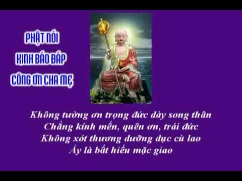 Phật Thuyết Kinh Báo Đáp Công Ơn Cha Mẹ (Có Phụ Đề)