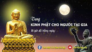 Tụng Kinh Các Cấp Thiền Quán tại Chùa Giác Ngộ, ngày 21-10-2020