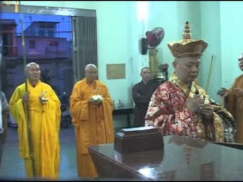 Lễ Khai Quang Đại Hùng Bảo Điện - Dâng Lục Cúng