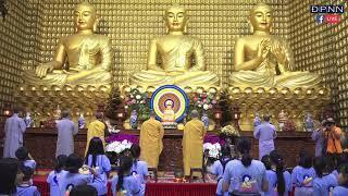 Tụng Kinh Phật Về Thiền Và Chuyển Hóa trong khóa tu Búp Sen Từ Bi