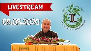 09.05.2020 Livestream Pháp Thoại Trực Tuyến - Thầy Thích Pháp Hòa