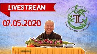 07.05.2020 Livestream Pháp Thoại Trực Tuyến - Thầy Thích Pháp Hòa