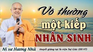 VÔ THƯỜNG MỘT KIẾP NHÂN SINH | Ni Sư Hương Nhũ || Thiên Quang Media (MỚI NHẤT)