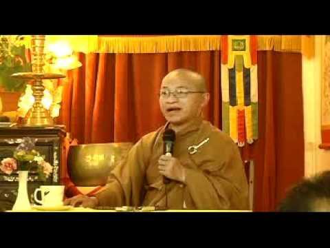 Giả từ nỗi đau thất tình (12/08/2007) video do Thích Nhật Từ giảng