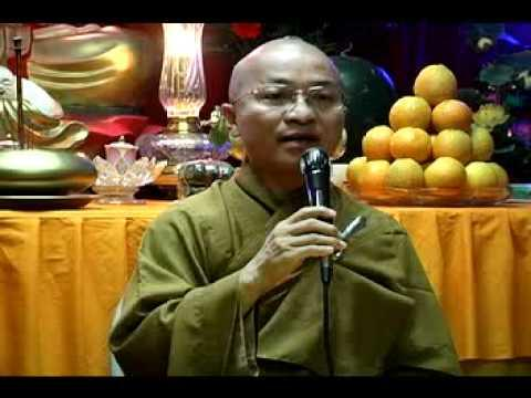 Cầu an khánh tuế - phần 1/2 (16/08/2008) video do Thích Nhật Từ giảng