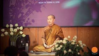 Thầy Minh Niệm | Hướng dẫn thiền tọa | 12.05.2019