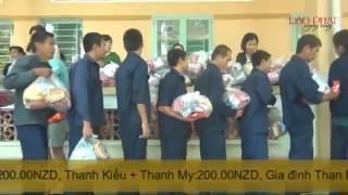 Từ thiện tại TTBT XH Tân Hiệp tỉnh Bình Phước - Quỹ Từ Thiện Đạo Phật Ngày Nay