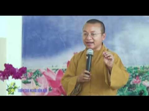 Thiền cho người bận rộn (07/01/2012) video do Thích Nhật Từ giảng