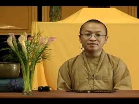 Tứ Vô Lượng Tâm: Từ Bi (Phần 2/2) )24/06/2007) video do TT Thích Nhật Từ giảng