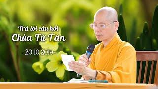 Tham Vấn Khóa Thiền Chùa Từ Tân - 20-10-2019