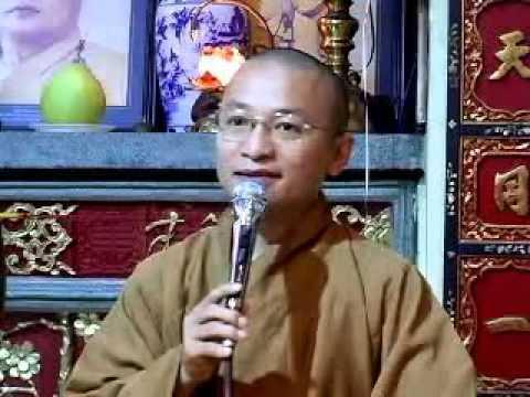 Học hạnh khiêm cung (23/11/2007) video do Thích Nhật Từ giảng
