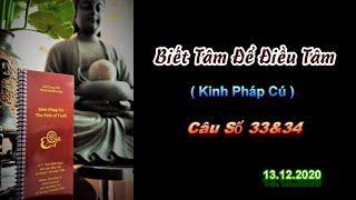 Biết Tâm Để Điều Tâm - Thầy Thích Pháp Hòa (Tv.Trúc Lâm.Ngày13.12.2020)
