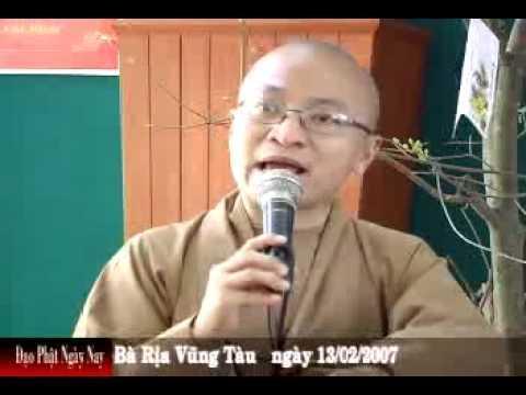 Hạnh phúc hôm nay (13/02/2007) video do Thích Nhật Từ giảng